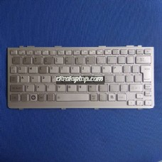 Keyboard Laptop Toshiba NB200, NB205, NB300 NB305- Silver