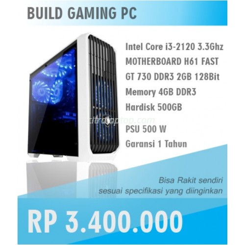 PC Gaming Core i3 Hemat