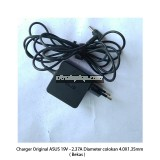 Charger Original ASUS 19V - 2.37A Diameter colokan 4.0X1.35mm