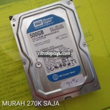 Harddisk PC 500GB Bekas / Second / 2nd WDC